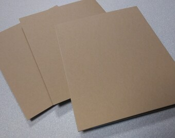 A7 blank note cards for card making, 80 lb, 216 gsm, 12 pt kraft A7 Notecards, stationery, greeting cards, professional heavy weight grade