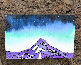 Original Block Mountain Painting