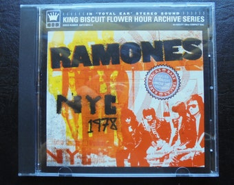 RAMONES Live in NYC 1978 Vintage Punk CD
