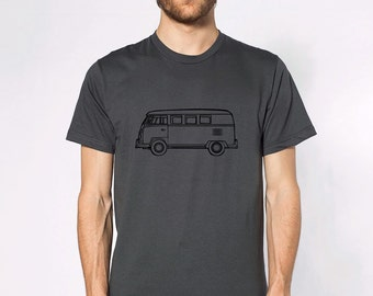 KillerBeeMoto: Limited Release German Engineered Hippie Carrier Transport Cartoon Version T-Shirt