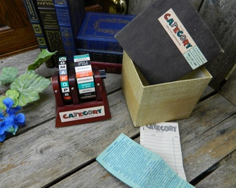 Vintage Mid Century Ton-E-Toy Corp. Category Trivia Game - Rare