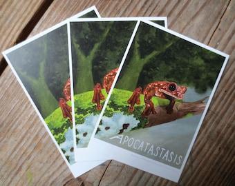 Apocatastasis Postcard