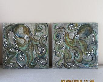 Trivets, octopus desgin
