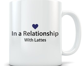 Latte Lover Gifts, latte mug, latte gift for women and men, latte themed gifts, cute latte gift idea, funny drink gift