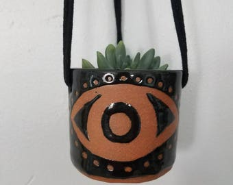 All-Seeing Eye Hanging Planter Succulent Planter