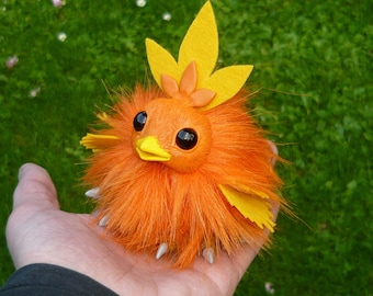 Pokémon - Torchic OOAK Art-Doll