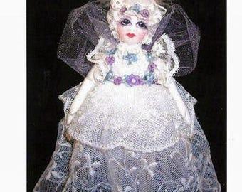 CE709E – Little Victoria, the dream fairy Cloth Doll Pattern
