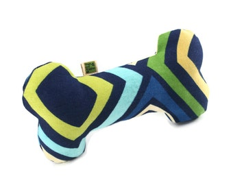Extra Durable Dog Toy Bone 'DOUBLE FABRIC LAYER Construction'