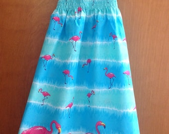 Flamingo Girls Sundress