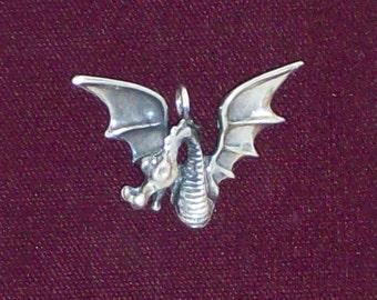 Sterling Silver Dragon