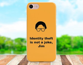 The Office Iphone X case Office Samsung case Galaxy case Orange Pixel case Office Iphone 8 case The Office Iphone 7 case Orange case Gifts
