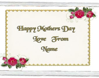 Mother's Day Acrylic Fridge Magnet Number 7