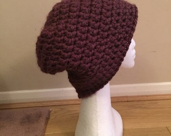 Crochet Slouch Beanie Super Chunky One Size Fits All Customer Colours