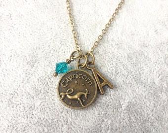 Capricorn necklace,zodiac Capricorn,Capricorn zodiac necklace,zodiac jewelry Capricorn,zodiac necklace,zodiac sign necklace,zodiac gifts