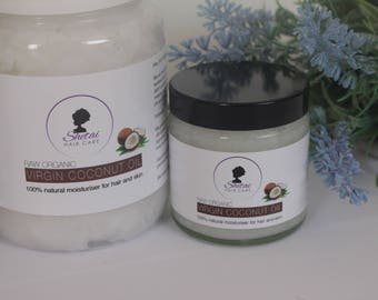 Organic Virgin Coconut Oil from Shetai | Natural Moisturiser | Natural Oil | Hair and Body Care | Men Women and Children