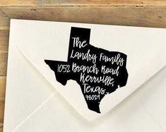 Return Address Stamp, Custom Stamp, Tennessee Stamp, Personalized Stamp, Christmas Gift, Housewarming Gift, Shower Gift, Teacher Gift, Favor