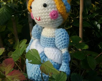 "Handmade crochet doll ""Cinderella"""