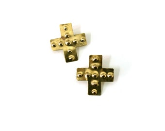 Telos Cross Earrings