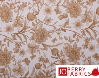Brown Blossoms Color Program by Fabri-Quilt