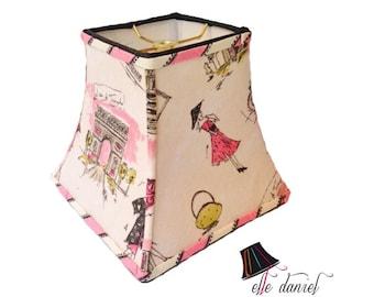 Custom Lamp Shades / Paris Decor - MADE TO ORDER - Custom Lamp Shades for Paris Decor, Paris Room Decor, French Decor