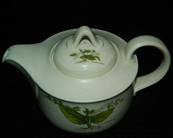 Vintage 'Country Lane' by Poole Teapot and Lid