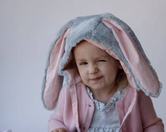 Bunny Hat || Bunny Costume || Bunny Outfit || Baby Bonnet || Modern Bonnet || Bunny Hat || Baby Hat || Newborn Bonnet || Animal Bonnet