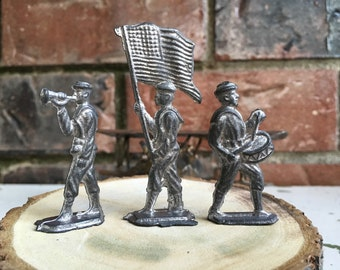 Set of 3 1940's/50's Lead Toy Solider's