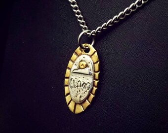 Through the stones necklace/ Craigh na Dun/ Outlander/ Scotland necklace/ bijoux outlander/Sassenach/Standing stones/ landscape jewelry