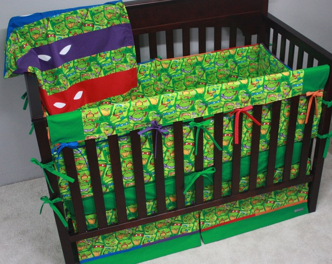 Teenage Mutant Ninja Turtle Baby Bedding Deluxe-MTO