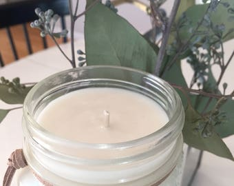 White tea & ginger soy lotion candle