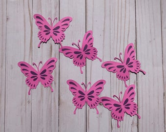 On SALE! Butterfly Die Cut Outs From Card Stock, Party Cut Outs, Birthday Cut Outs, Party Cut Outs, Confetti