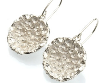 Sterling silver Star Dust pendant earrings