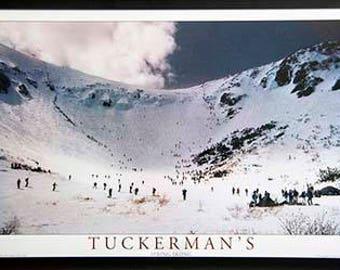 SPECIAL   Tuckerman Ravine 20 x 30 metal framed FREE SHIPPING  99.95
