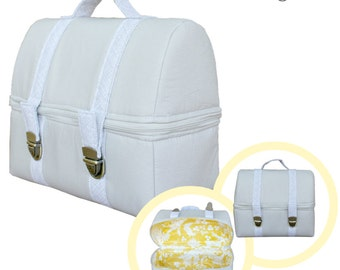 The Adventure Case -PDF Sewing Pattern -Instant download Case. Lunch Case. Insulated Lunch Case. Insulated Lunch Tote. Small Bag