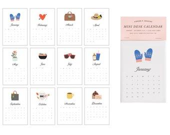 2019 Mini Desk Calendar