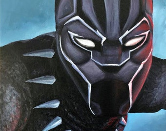 Black Panther - Painting - Print