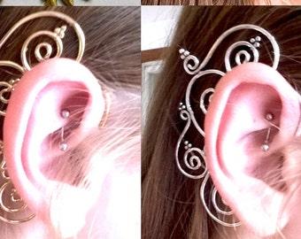 Scroll Ear Cuff Fairy, Fantasy, Cos Play