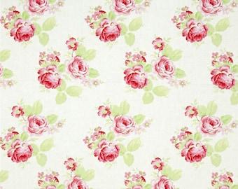 SALE Tanya Whelan fabric  Roses ,half yard