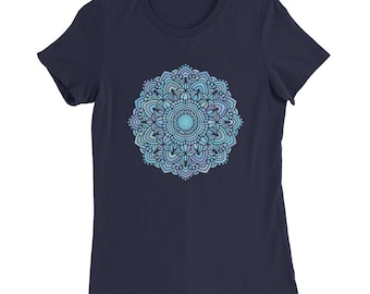 Mandala T-shirt, Mandala Shirt, yoga Tshirt, yoga gift, yoga sweatshirt, Yoga tee