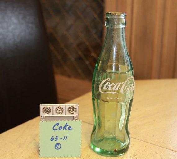 1963 Coke Bottle Vintage Coca Cola Bottle Great Condition