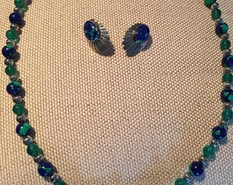 Southwest Necklace and Earring Set