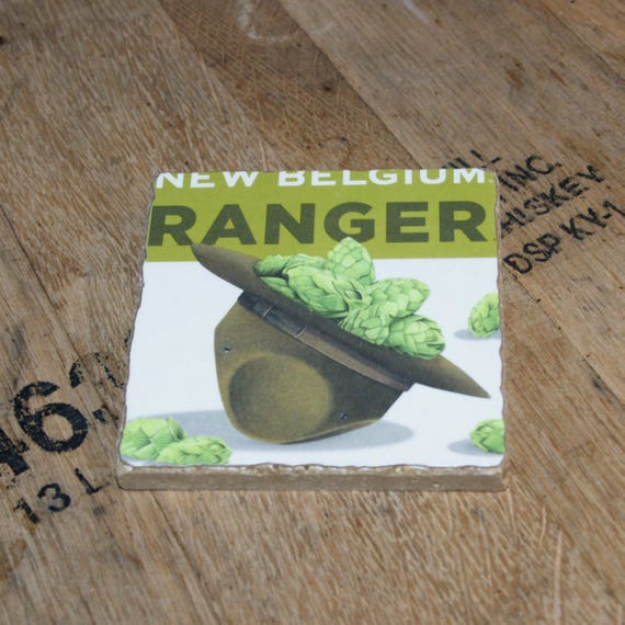 UPcycled Coaster - New Belgium - Ranger