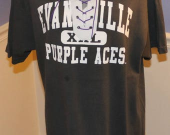 University of Evansville Lace Up T-Shirt