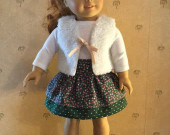 3 piece outfit for American Girl Doll