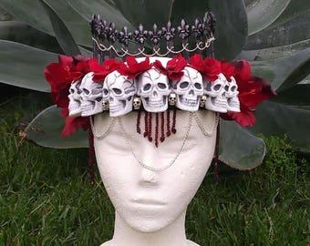 Gothic Skull crown/headdress