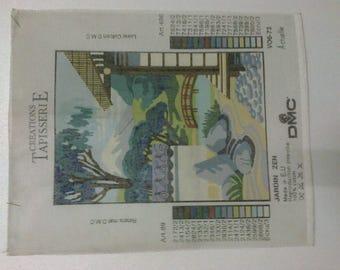 """Canvas embroidery """"Zen Garden""""35 x 25cm"""""""""""