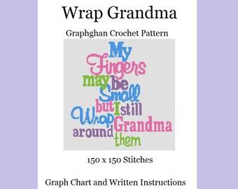 Wrap Grandma - Graphghan Crochet Pattern