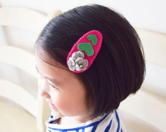 Abby Felt Flower Hair Clip