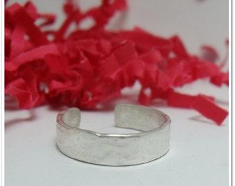 Toe Ring - Sterling Silver Toe Cuff
