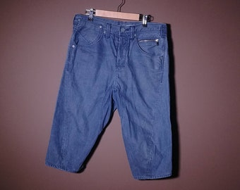 Levis Blue Shorts Denim Jeans M medium